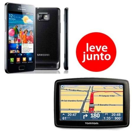 Smartphone Samsung Galaxy S II + Navegador GPS