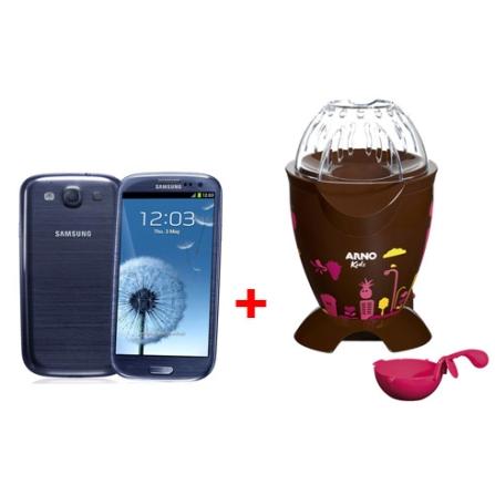 Smartphone Samsung Galaxy SIII + Pipoqueira Arno