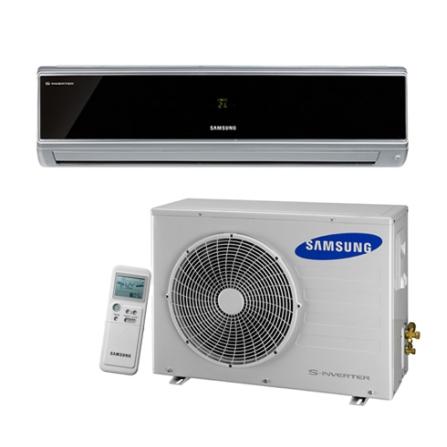 Condicionador de Ar Split  Vivace 9000Btus / Eletrônico / Quente e Frio / Vírus doctor / Preto Espelhado - Samsung - AQV, 220V, LA, 9.000 BTUs, Split, 9.000 a 11.500 BTUs