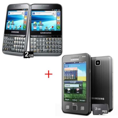 Smartphone Galaxy Pro + Celular GSM Duos