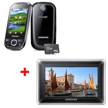 Smartphone Galaxy 5 + Porta-Retrato LCD 8