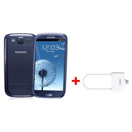 Smartphone Samsung Galaxy SIII + Receptor de TV