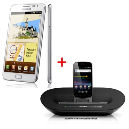 Tablet Samsung Galaxy Note  3G  + Dock Station