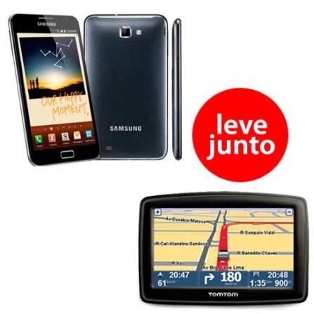 Tablet Samsung Galaxy Note N7000 + Navegador GPS