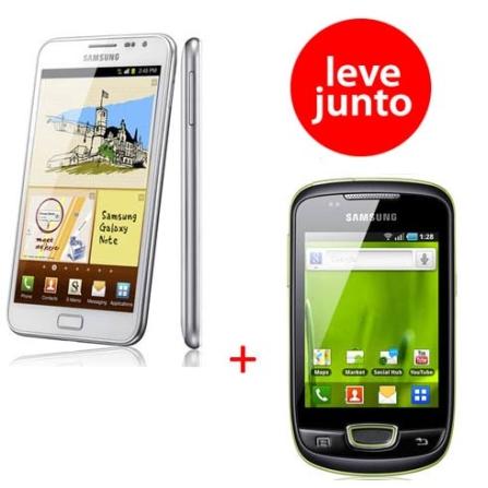 Tablet Samsung Galaxy Note + Galaxy Mini