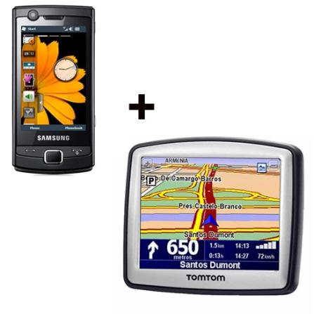 Smartphone OMNIA LITE Samsung+Navegador One TomTom