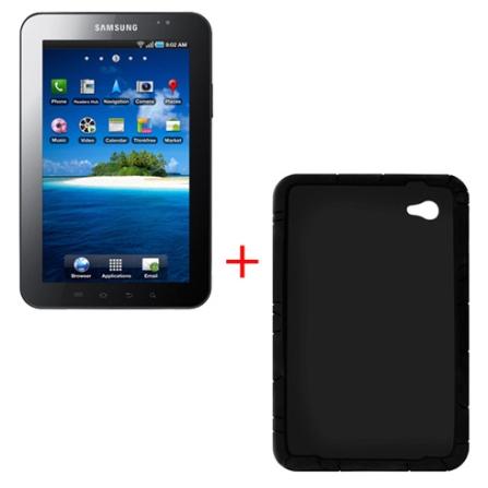 Tablet Samsung Galaxy Tab P1000 + Capa de Silicone
