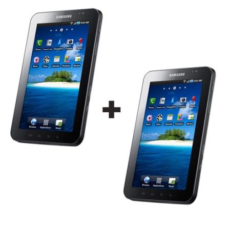 Tablet Samsung Galaxy Tab + Tablet Samsung Galaxy