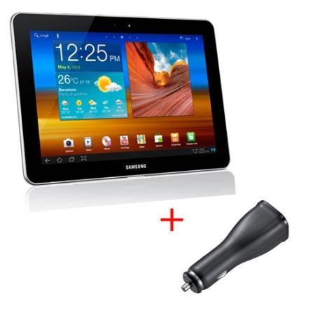 Tablet Samsung Galaxy Tab P7500 10.1 Conexão 3G + Wi-Fi, Android 3.1,Processador 1Ghz Tegra 2 DualCore, 1GB Memória RAM,