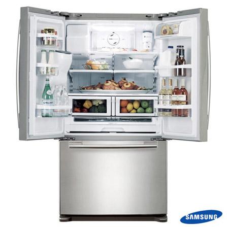 Refrigerador 3 Portas Samsung + Máquina de Café, 110V, LB