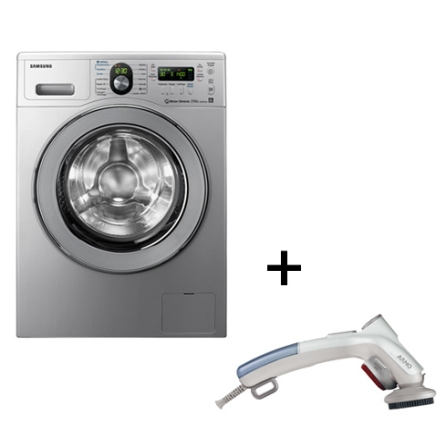 Lavadora e Secadora 8,5Kg + Steamer Portátil, LB