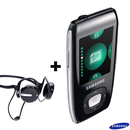 MP3 Player 4GB com Display Colorido de 1,8