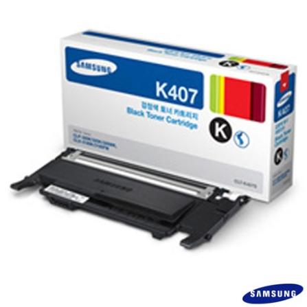 Toner Preto Samsung CLT-K407S, Toner