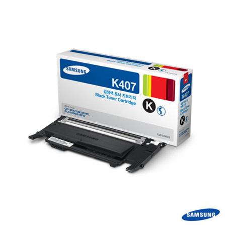 Toner Preto Samsung para CLP-325, CLP-325W, CLX-3185N e CLX-3185W, Toner
