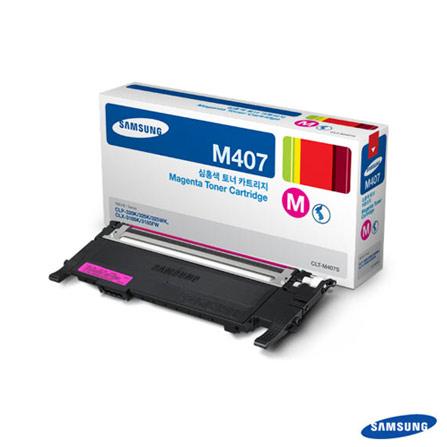 Toner Magenta Samsung para CLP-325, CLP-325W, CLX-3185N e CLX-3185, Toner