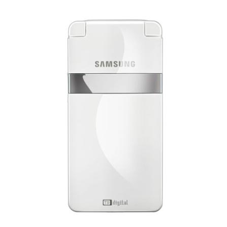 Celular GSM I6210 Branco com Câmera de 2.0MP / TV Digital / MP3 Player / Cartão de 512 MB / Bluetooth - Samsung