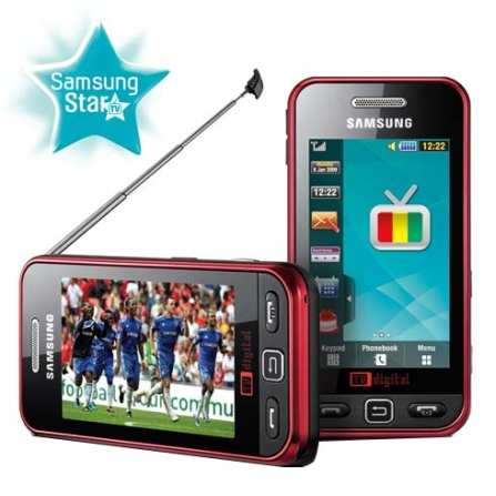 Celular GTI6220 Star TV/Display Full Touch Samsung