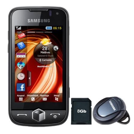 Celular GTS8000 Jet Câmera/Bluetooth/GPS Samsung