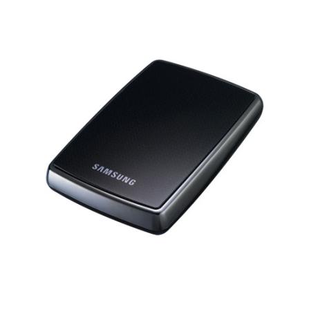 HDD Externo 160GB Com Duas Formas de Backup / Interface USB 2.0 / Preto - Samsung - HXMU016DAM22