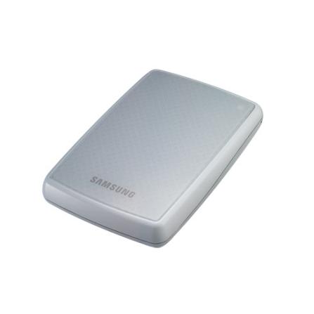 HDD Externo 320GB Com Duas Formas de Backup / Interface USB 2.0 / Branco - Samsung - HXMU032DAM32