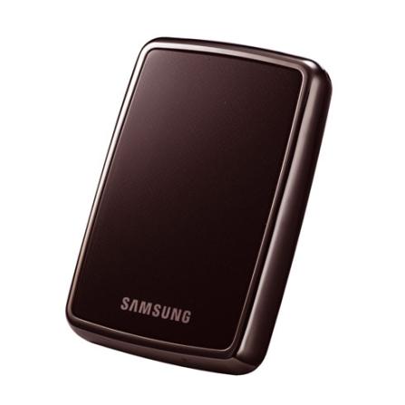 HDD Externo 320GB Com Duas Formas de Backup / Interface USB 2.0 / Marrom - Samsung - HXMU032DAM52