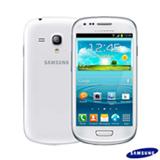 "Samsung Galaxy SIII Mini Branco com 4"", 3G, Android 4.1, Dual Core 1 GHz, 8 GB, Câmera de 5 MP"