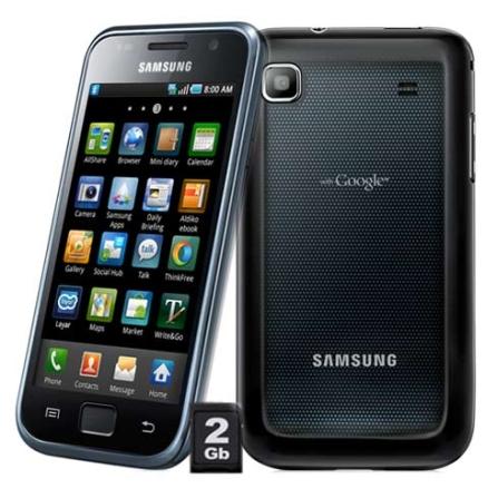 Samsung GalaxyS I9000 Android, Tela 4