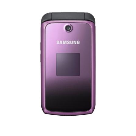 Celular GSM M310 Violeta com Câmera VGA / Rádio FM / Bluetooth / Viva voz - Samsung