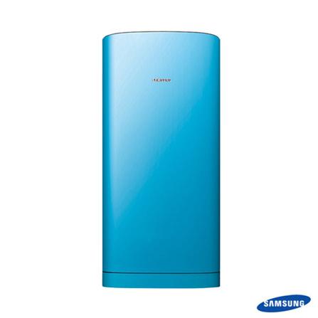 EXCLUSIVO:Refrigerador Samsung 197L Azul- RA21PTHB, 110V, LB, 01 Porta, De 141 a 350 litros