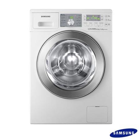 Lavadora e Secadora 8,5 kg Samsung - WD0854W8E, 110V, 220V, Branco, De 7 kg a 9 kg, 8,5 kg, Lava-Seca