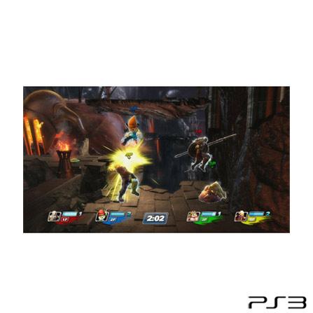 Jogo  All Stars Battle Royale para PS3, GM, Ação, PlayStation 3