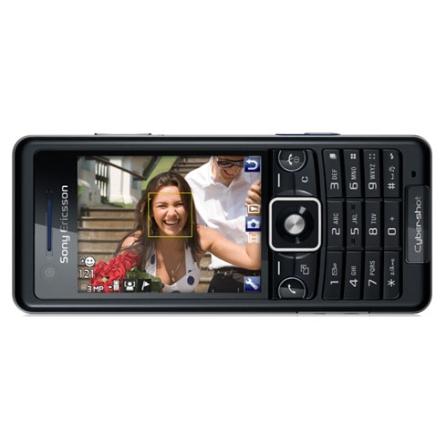 (não ativar)Celular GSM C510 Cyber-Shot com Câmera 3.2 MP / Face Detection / Smile Shutter / Bluetooth Estéreo / Rádio F