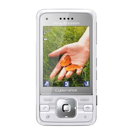 Celular GSM C903 Branco com Câmera de 5.0MP / MP3 Player / Bluetooth / Rádio FM / Jogos 3D / Cartão de 4GB - Sony Ericss