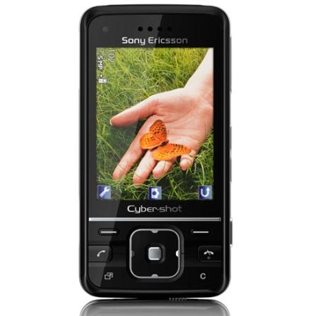 Celular GSM C903 Preto com Câmera de 5.0MP / MP3 Player / Bluetooth / Rádio FM / Jogos 3D / Cartão de 4GB - Sony Ericsso