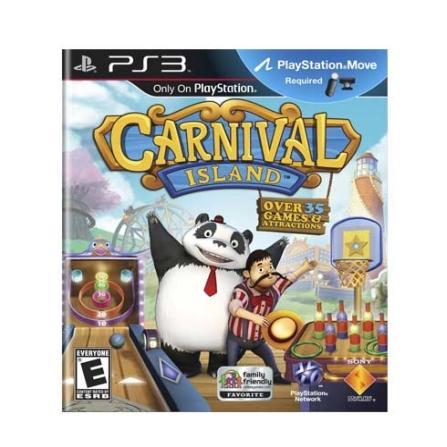 Jogo Carnival Island para PS3 - Sony, GM