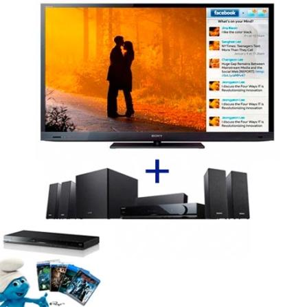 TV LED Sony Bravia EX725 com 40