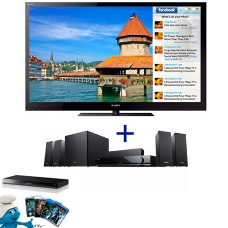 TV LED Sony Bravia HX825 com 46