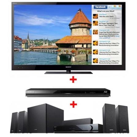 (NOVO CJ) TV LED Sony Bravia HX825 com 46