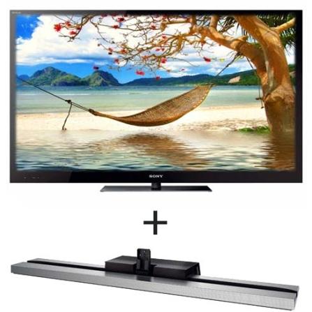 LED 3D 46'' Skype + Base Monolítica Sony, VD