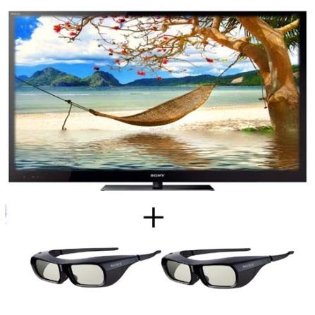 TV LED 3D HX925 46'' + 2 Óculos Sony, VD
