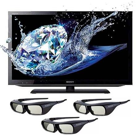 TV LED 3D 55