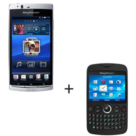 Smartphone Sony Ericsson Xperia + Celular Sony