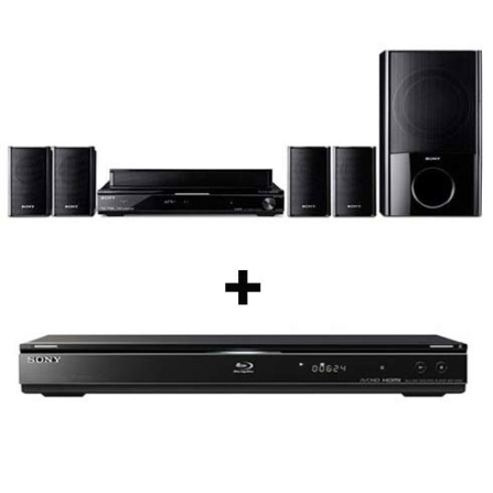 Home Theater 5.1 Canais + Blu-ray Disc Player Sony, VD