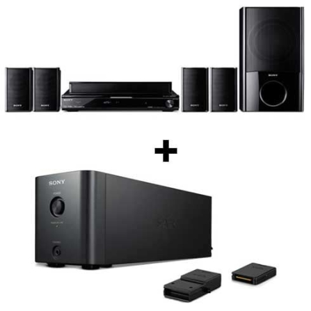 Home Theater 5.1 Canais 835W RMS+Kit Wireless Sony