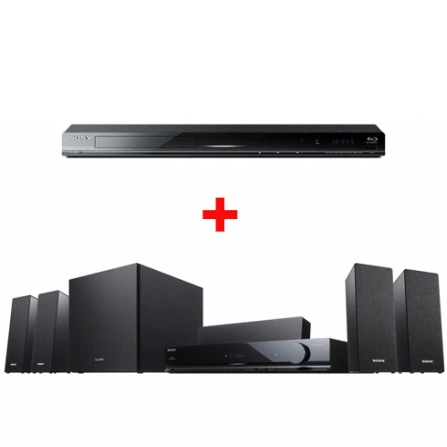 Home Theater com 720W RMS + Blu-ray Player Sony
