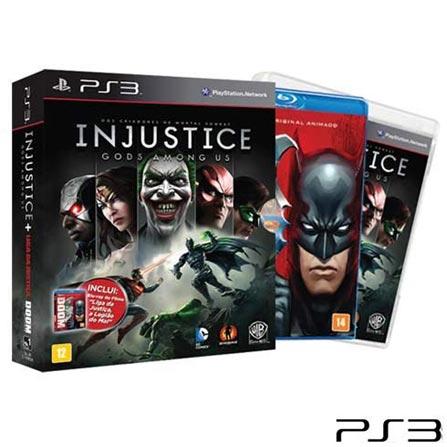 Jogo Injustice: Gods Among Us para PS3 - Sony, GM, Luta, PlayStation 3