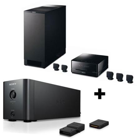 Home Theater Integrado 5.1 + Kit Wireless Sony