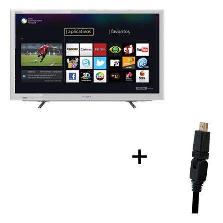 TV LED Sony Bravia EX655 Branca com 32