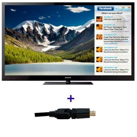 TV LED Sony Bravia NX725 com 55