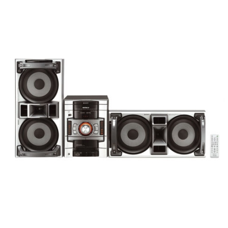 Mini System com USB Rec & Play / MP3 / 600W RMS - Sony - CJMHCGTX77
